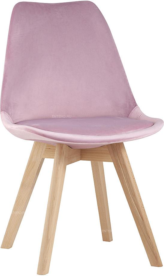 Стул Stool Group FRANKFURT велюр розовый