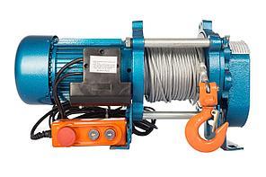 Лебедка TOR ЛЭК-1000 E21 (KCD) 1000 кг, 380 В с канатом  100 м