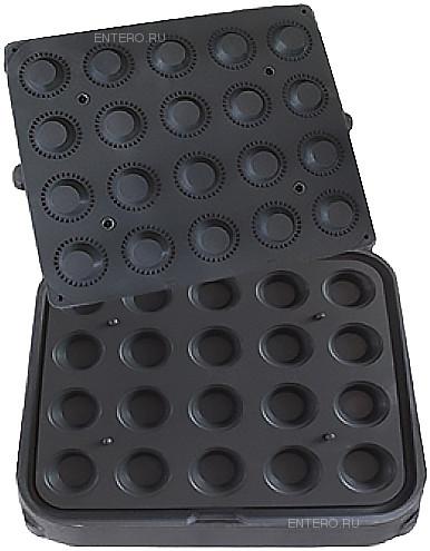 Форма для тарталетницы Kocateq DHTartmatic Plate 45