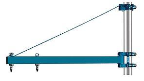 Штанга для тали TOR HST-1000-750-B