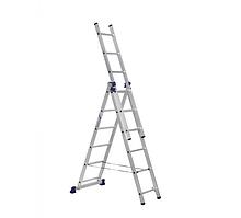 Лестница 3-секционная алюминиевая TOR VL3-9