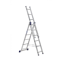 Лестница 3-секционная алюминиевая TOR VL3-15