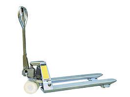 Тележка гидравлическая 2000 кг 1500 мм TOR BX  нержавеющая сталь (нейлоновые колеса)