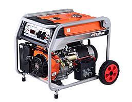 Генератор бензиновый TOR KM9500H 7,0кВт 220В 27л  с кнопкой запуска и колесами