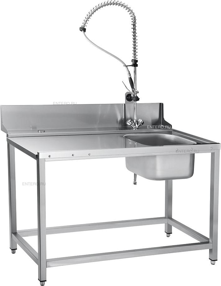 Стол предмоечный Abat СПМП-7-4 с душирующим устройством