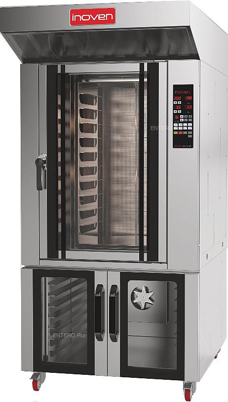 Печь ротационная Inoven с расстоечным шкафом AYF-10 E