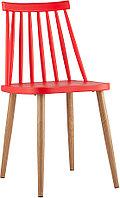 Стул Stool Group Морган пластиковый красный