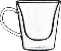 Чашка Luigi Bormioli Thermic Glass Coffee/Tea Mug для чая и кофе
