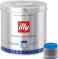 Кофе молотый в капсулах illy ipso home lungo (арабика, средняя обжарка, 21 капсула)