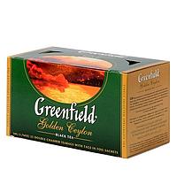 Чай Greenfield Golden Ceylon черный, 25 пакетиков