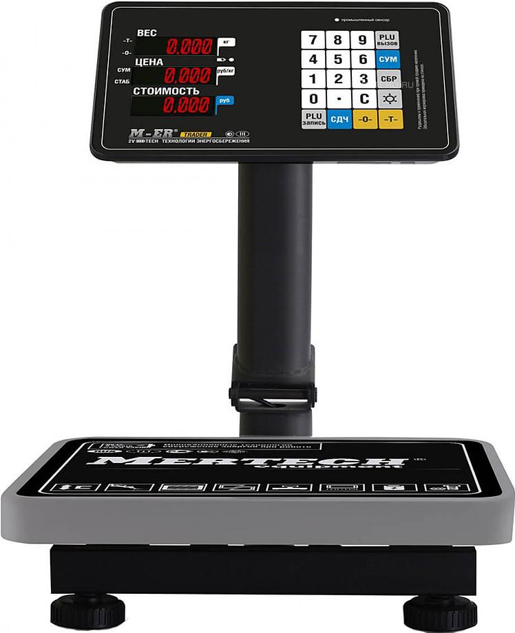 Весы напольные Mertech M-ER 333 ACPU-60.20 с расч. стоимости LED
