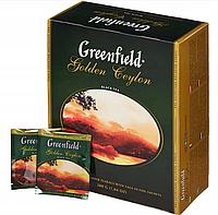 Чай черный Greenfield Golden Ceylon, 100x2g