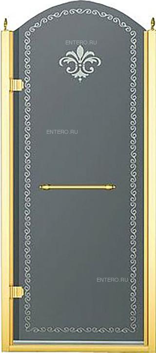 Дверь душевая CEZARES RETRO-A-B-1-90-CP-G-L 90х195 см, в нишу, распашная