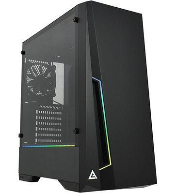 Корпус ATX midi tower Antec, DP501 Dark Phantom, 1*120mm black fan + ARGB fan hub, (без БП), black