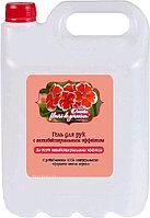 Гель антибактериальный для рук Oventa Fleurs de geranium 5