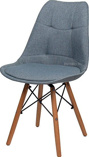Стул BentWood Eames S/EMS ткань синий