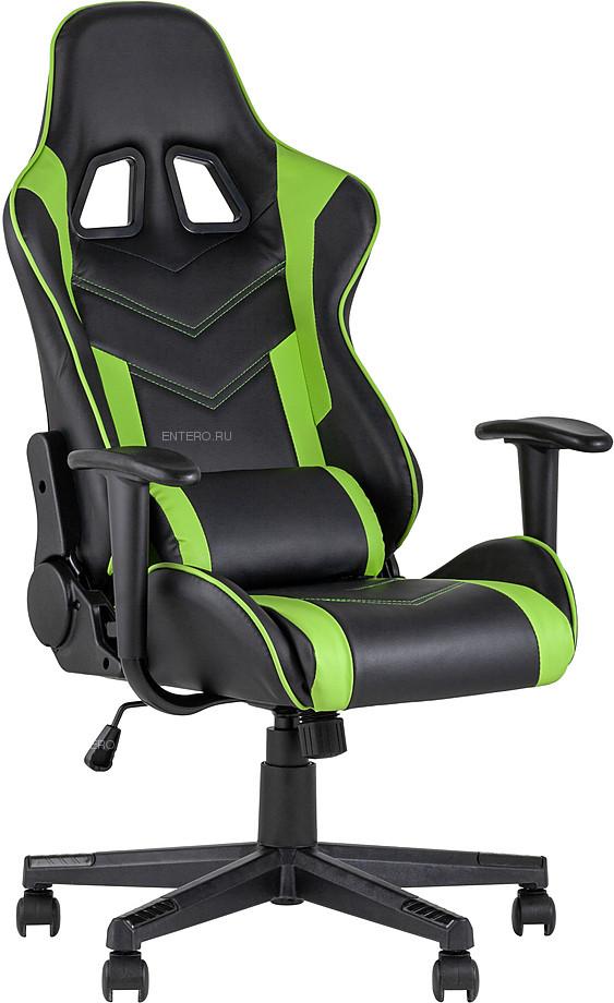 Кресло игровое TopChairs Impala зеленое