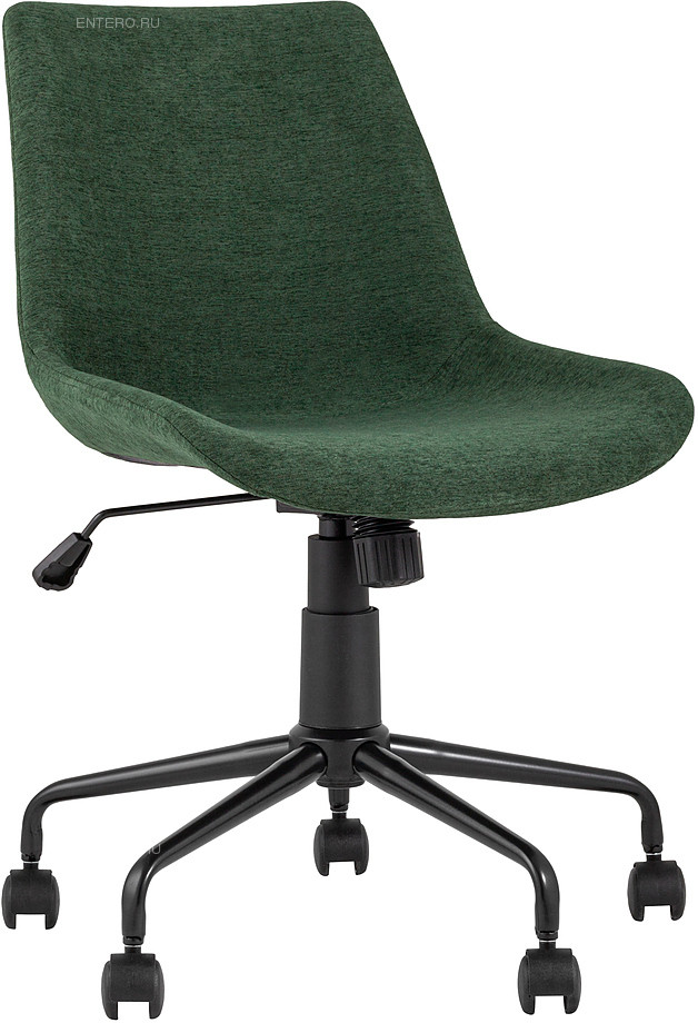 Кресло офисное Stool Group Кайзер шенилл зеленый