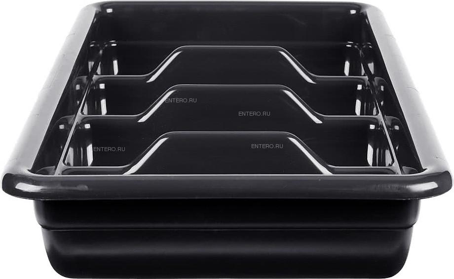 Емкость для столовых приборов Cambro 1120CBP 110 черная
