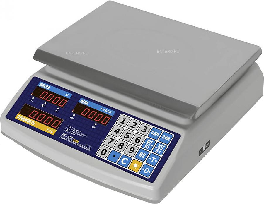 "Весы настольные Mertech M-ER 329 AC-32.5 IP67 ""Fisher"" LED"