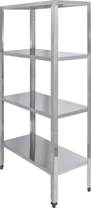 Стеллаж кухонный Luxstahl СР-1800x800x500/4