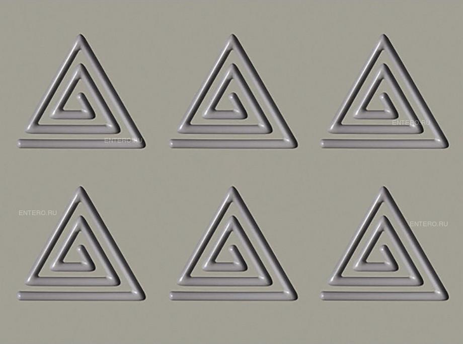 Форма Pavoni Gourmand GG009 Спираль-треугольник