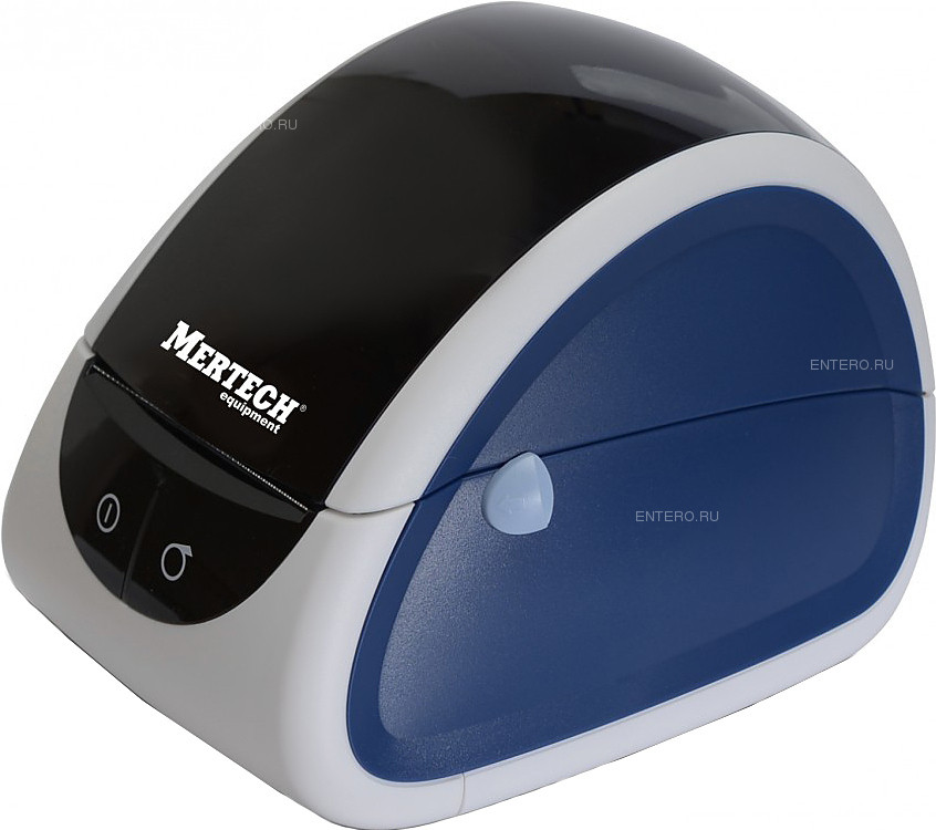 Принтер чековый Mertech MPRINT LP80 EVA RS232-USB White & blue