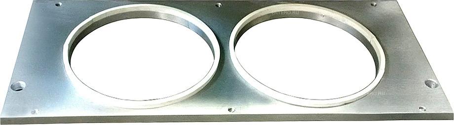 Форма VASSILII № 3162 2х 155х155 мм