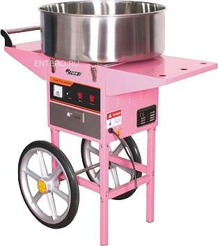 Аппарат для сахарной ваты Starfood ET-MF-05 (520 мм) с тележкой