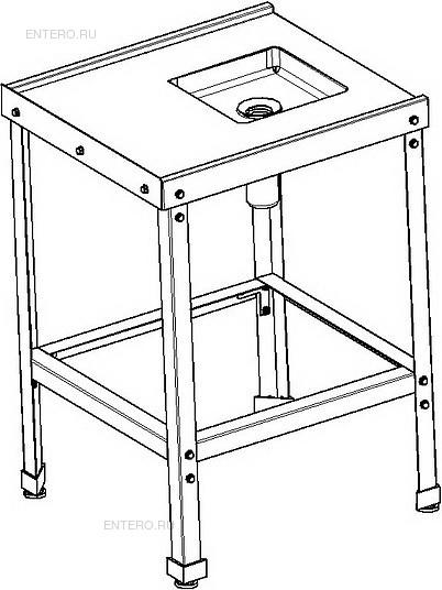 Стол для грязной посуды ITERMA СБ-361/610/550 ПММ/М СЗ Ш430
