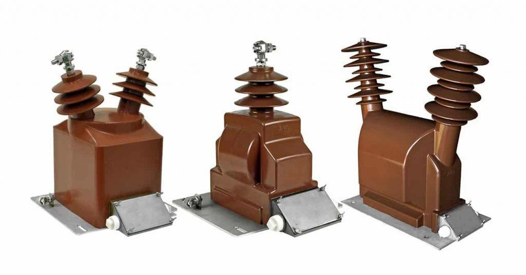 Испытание трансформатора напряжения 10 - 35 кВ