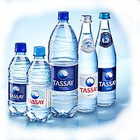Вода негазированная Tassay, 0,5л, стекло