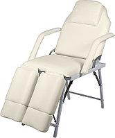 Кресло педикюрное МЭДИСОН МД-602 складное, слоноваая кость