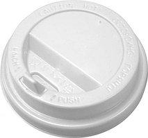 Крышка для стакана Интерпластик-2001 70 мм белая с носиком