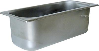 Гастроемкость для мороженого InoxMacel 40.10.10.3616.1205 (360х165х120) нерж. сталь