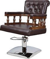 Кресло парикмахерское МЭДИСОН МД-170 гидравлика хром, квадрат хром