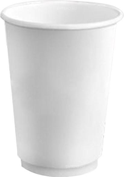 Стакан бумажный Флексознак 250 мл белый