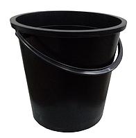 Ведро хозяйственное 5 л, черное
