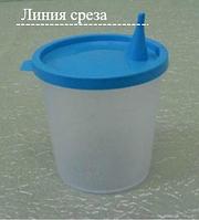 Емкость для анализов-стакан с крышкой 50 мл