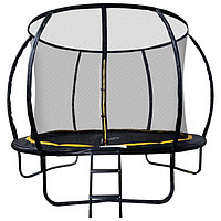 Батут SportElite, d=305 см, с внутренней защитной сеткой и лестницей