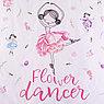 Постельное бельё «Этель» 1.5 сп Flower dancer 143*215 см, 150*214 см, 50*70 см -1 шт,100% хл, бязь, фото 3
