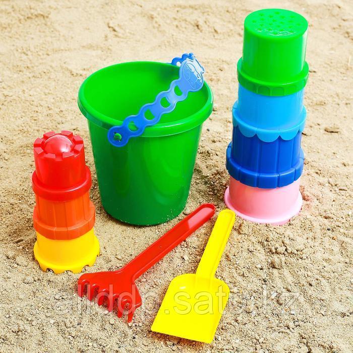 Набор для игры в песке, цвета МИКС