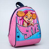 """Рюкзак """"Скай"""", 20*13*26, отд на молнии, розовый"""