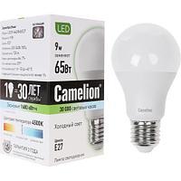 Эл. лампа светодиодная Camelion А60/4500К/E27/9Вт, Холодный
