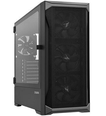 Корпус ATX midi tower Zalman Z8, (без БП), black