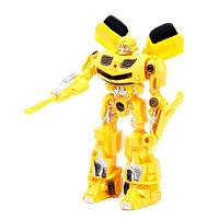 Робот «Автобот», световые эффекты, цвета МИКС