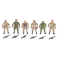 Солдатик «Спецназ», набор 6 шт