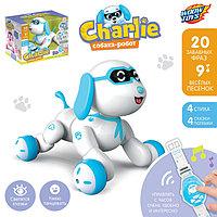 Робот-собака Charlie, радиоуправляемый, световые и звуковые эффекты, русская озвучка