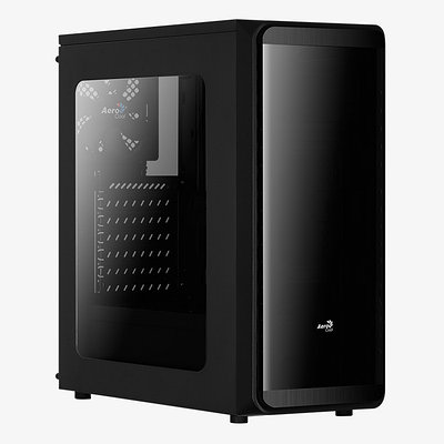 Корпус MATX midi tower AeroCool, SI-5200, (без БП), black