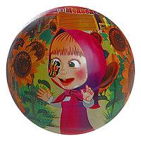 Мяч «Маша и медведь», 23 см, в сетке